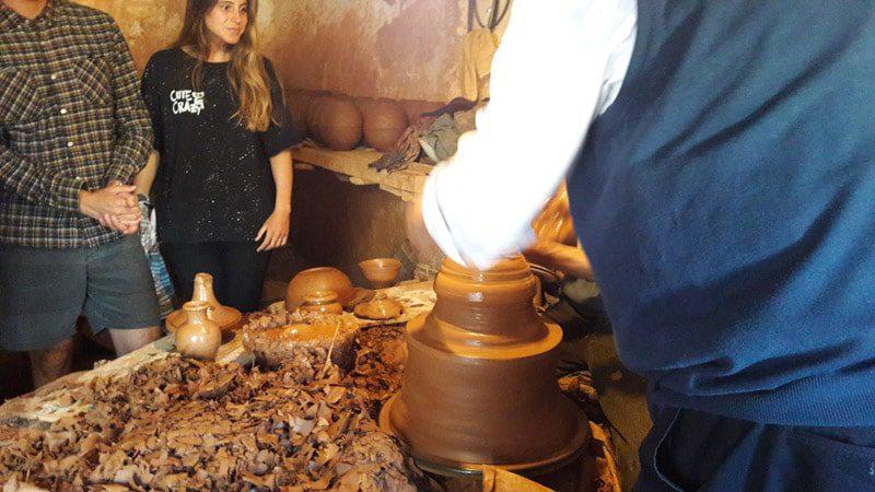 מפעל כלי חרס - העמקה לתרבות המרוקנית