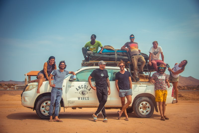 טיול גלישה לאנגולה - טיולי שטח במדבר נמיב